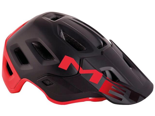 MET Roam MIPS Helmet matt black/red